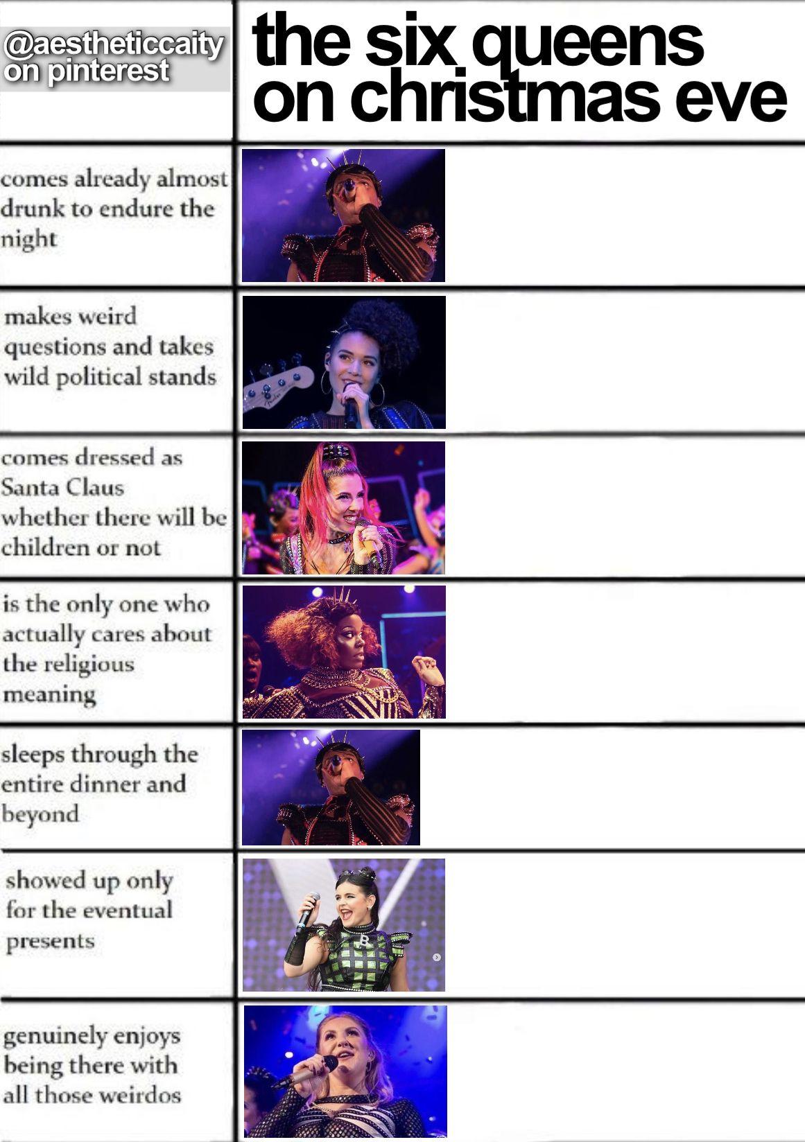 Six The Musical Meme Musicals Musical Theatre Humor Theatre Jokes