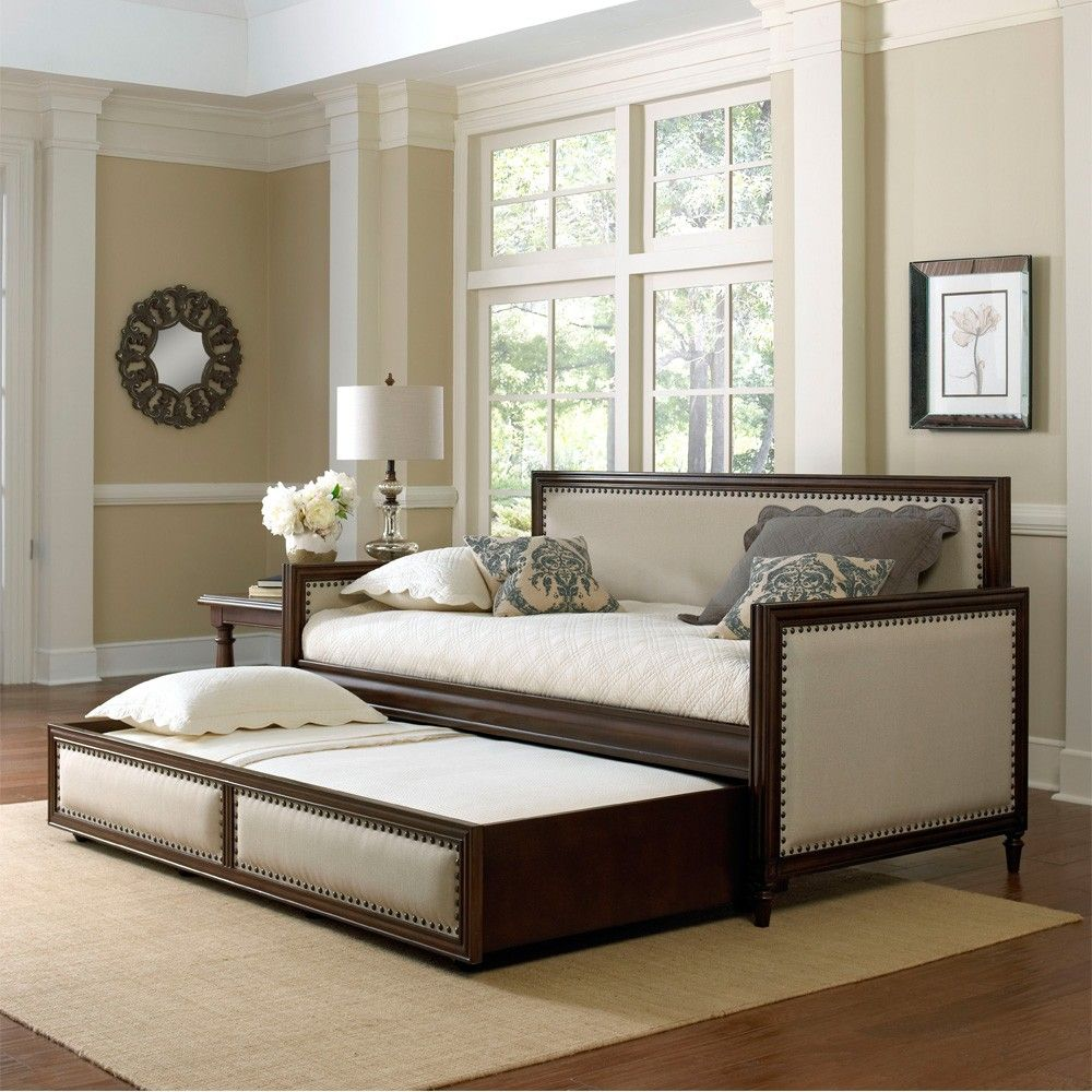 Fashion Bed Group S Grandover Upholstered Daybed Has Cream