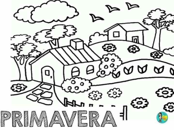 Pin De Maria Jose Reina Fernandez En Primavera Dibujos