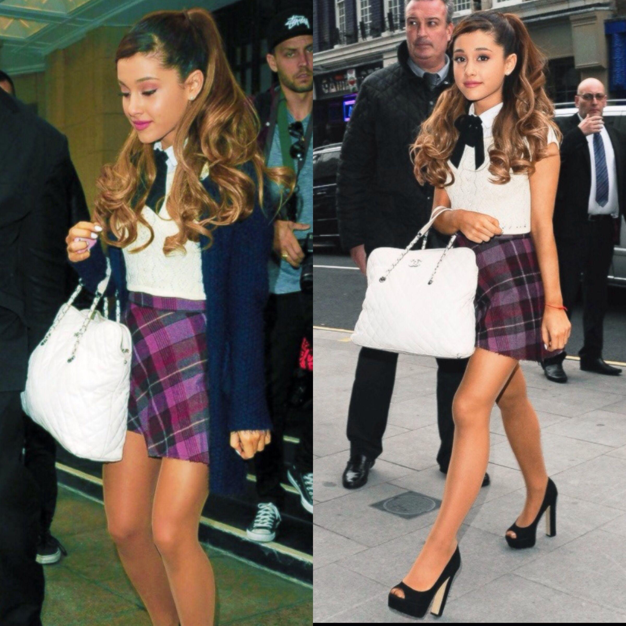 U2661School Girl Chic Everyday Outfit! U2661 ~Ariana Grande | P L A I D | Pinterest | Girls Wardrobes ...
