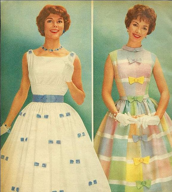Summer frocks From Sears Summer Sale catalog, 1959