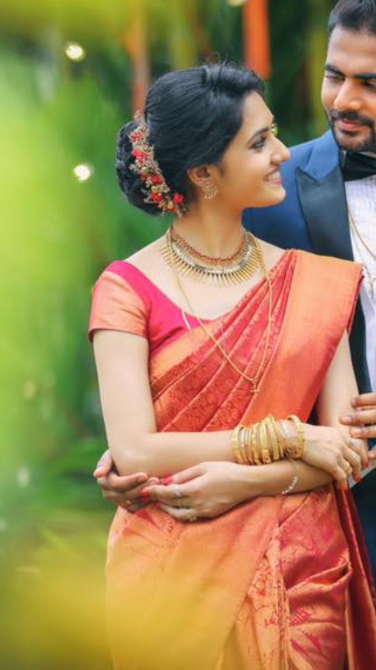 manthrakodi | weddings in 2019 | christian bridal saree