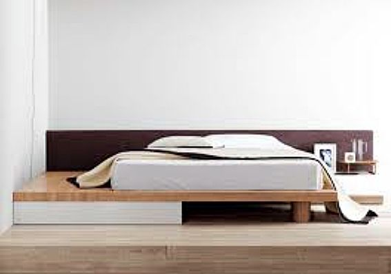 Simple Asymmetric Low Bed Carldrogo Com Simple Bed Designs Modern Bed Double Bed Designs