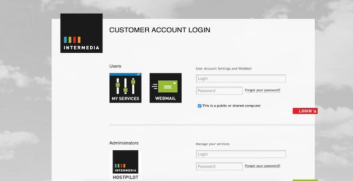 Intermedia Email Email Account Email Service