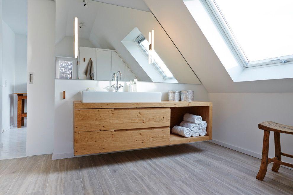 Badezimmer Armaturen Im Modern Badezimmer Mit Schlichte