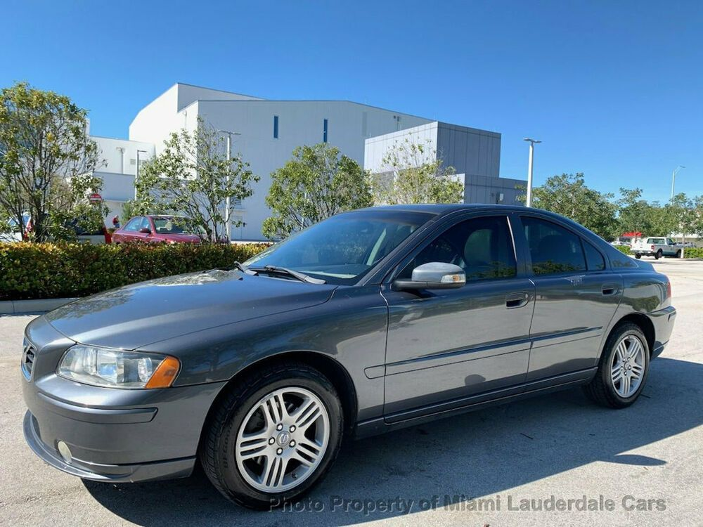 2008 Volvo S60 2 5t Fwd One Owner Low Miles Clean Carfax Leather Sunroof Dealer Serviced Well Maintained Volvo S60 Volvo Fwd