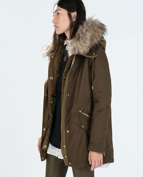 9f1561c064 Tuesday Ten: The Chicest Fall Coats | Winter | Zara parka, Fashion, Coat