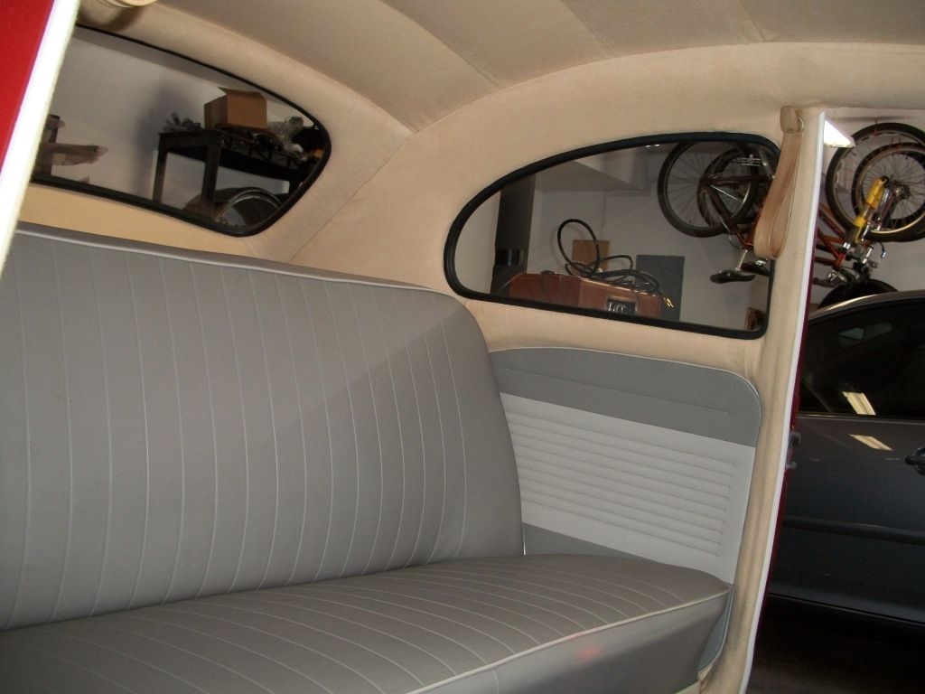 Thesamba Com Gallery Interior Completed Volkswagen Interior Vw Bug Interior Volkswagen