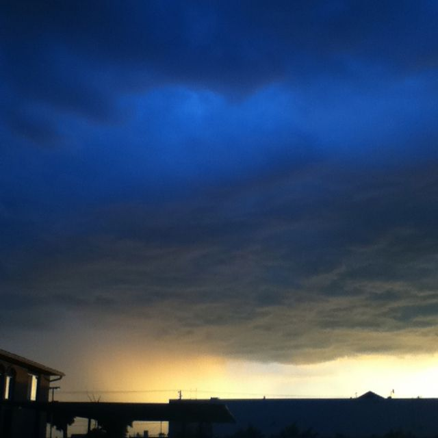 Awesome storm clouds