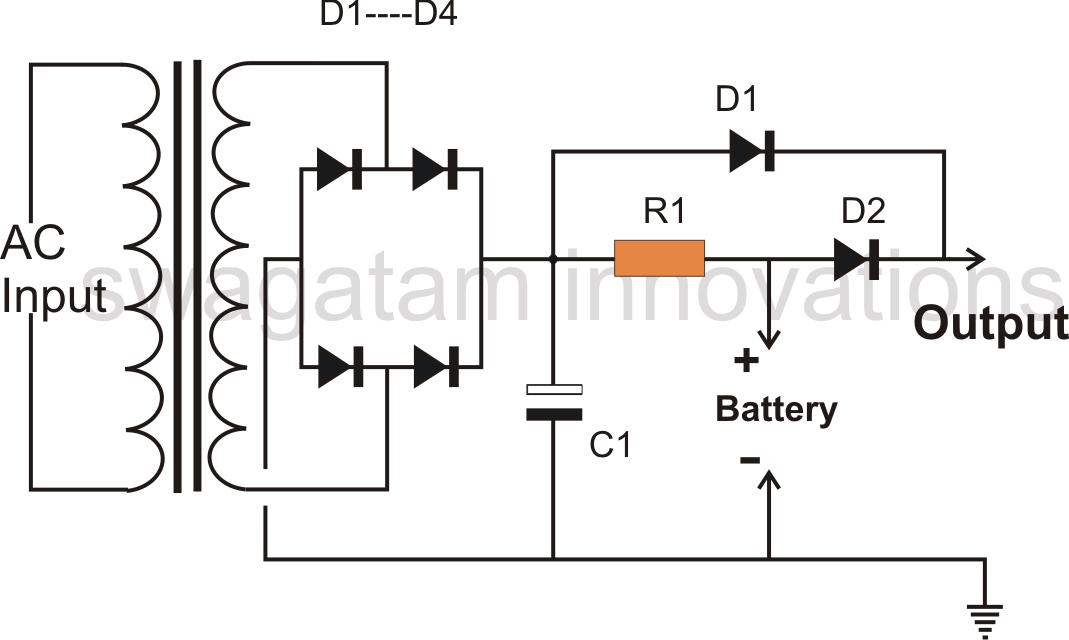 12 volt battery wiring diagram for lights