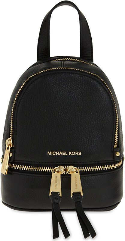 c2c647d780 MICHAEL Michael Kors Rhea extra-small leather backpack