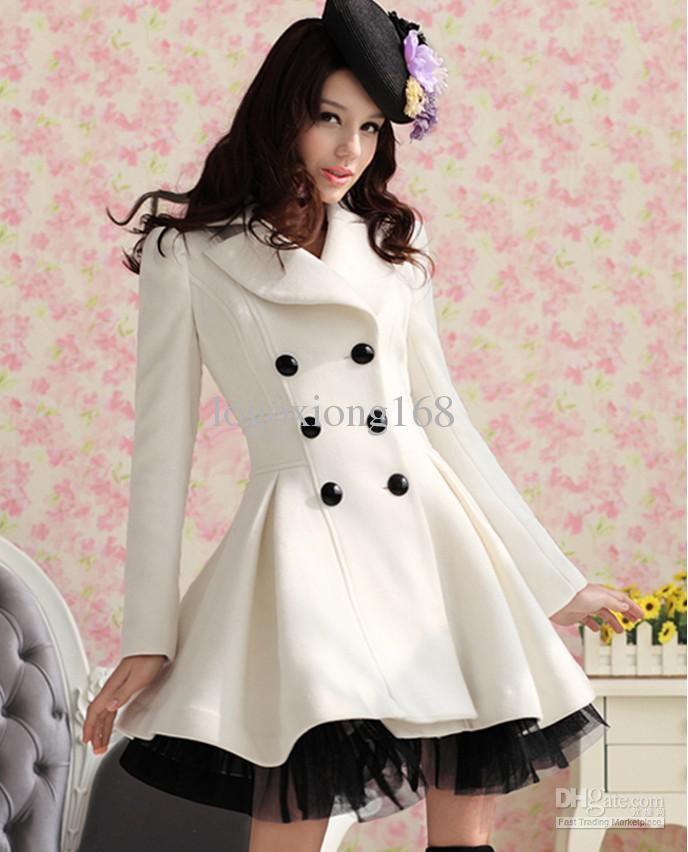 White Womens Coats