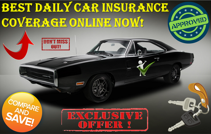 Cheap Daily Auto Insurance With Low Rates And No Down Payment