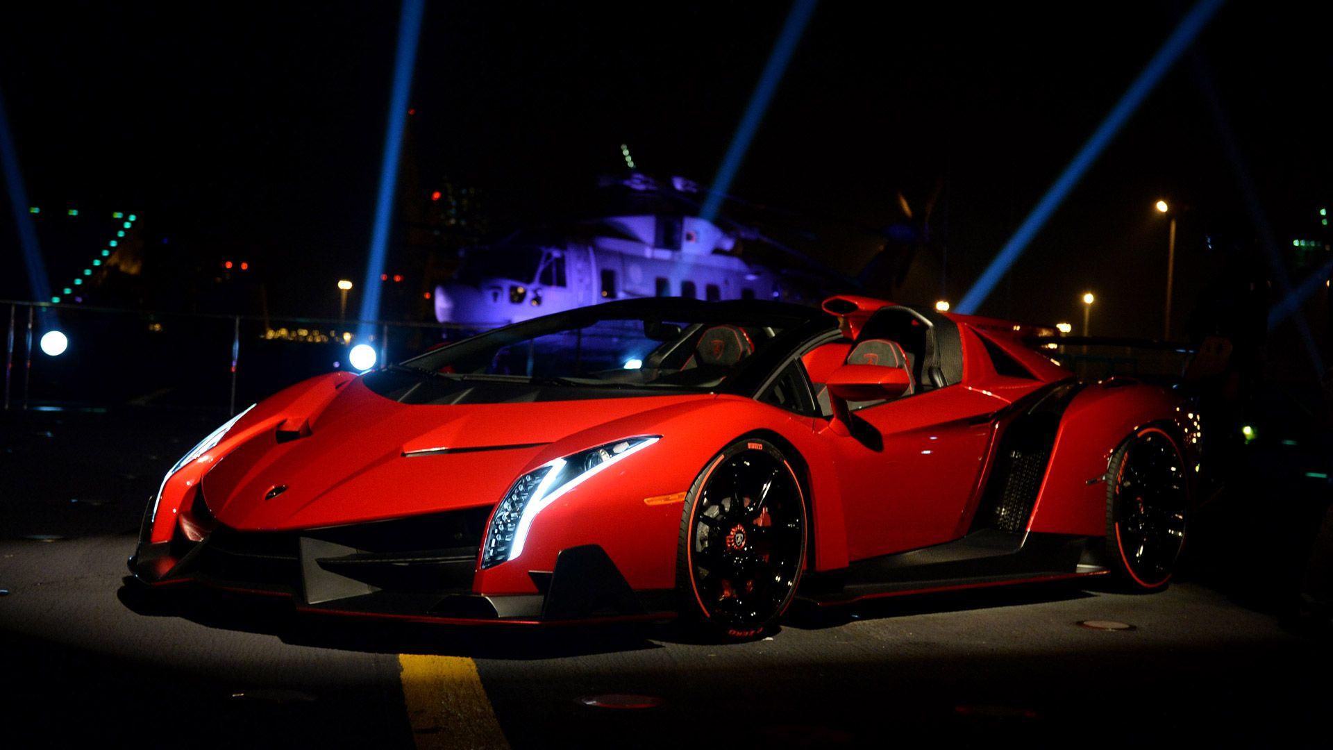 The new Lamborghini!