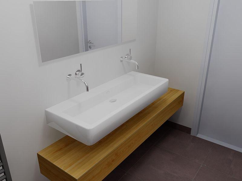 Duravit vero badkamershowroom de eerste kamer loos