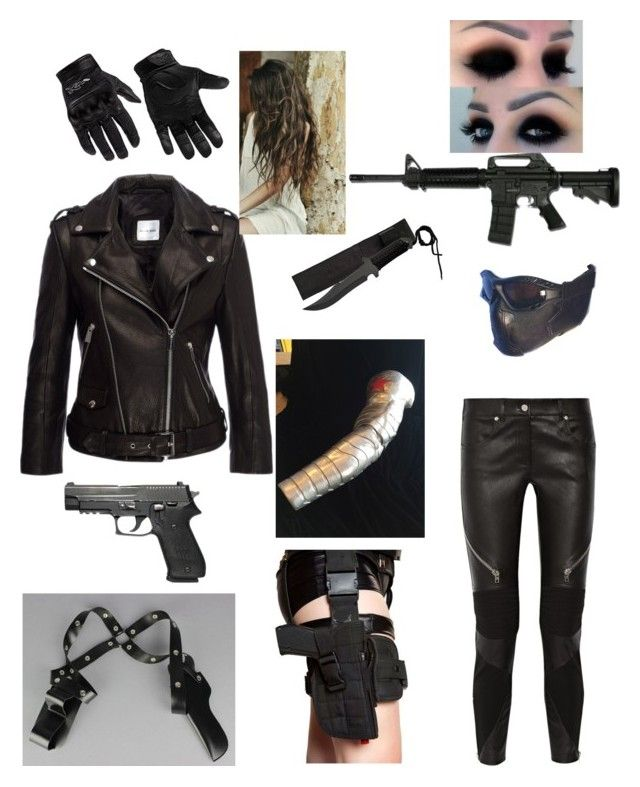 """""""The Winter Soldier"""" by brannablack on Polyvore featuring Anine Bing, Givenchy and Wiley X"""