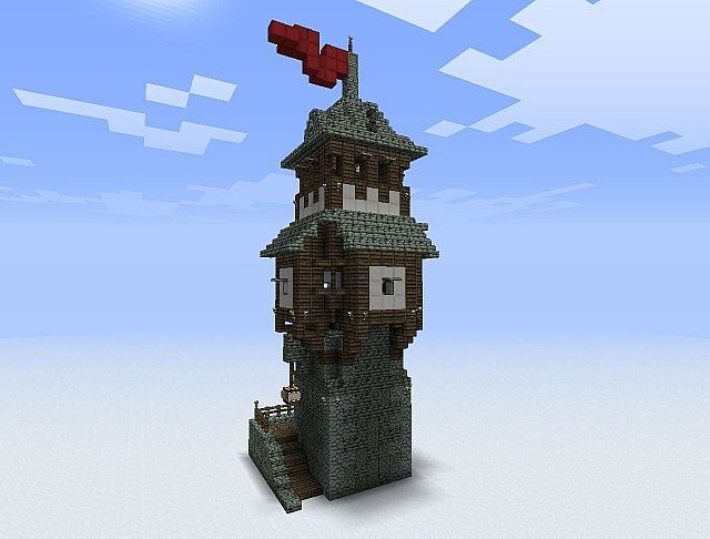 Guard tower.