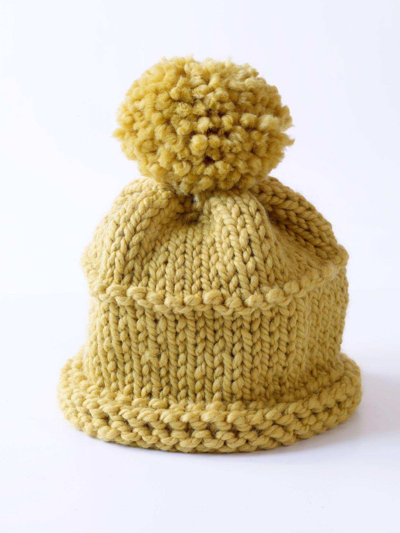 knitting patterns for hats | Free Knitting Pattern 70436AD Knit Hat ...