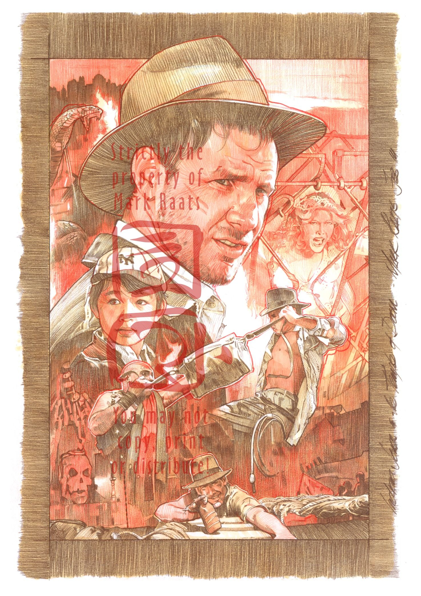 Indiana Jones and the Temple of Doom - Final Comp. by MarkRaats on deviantART