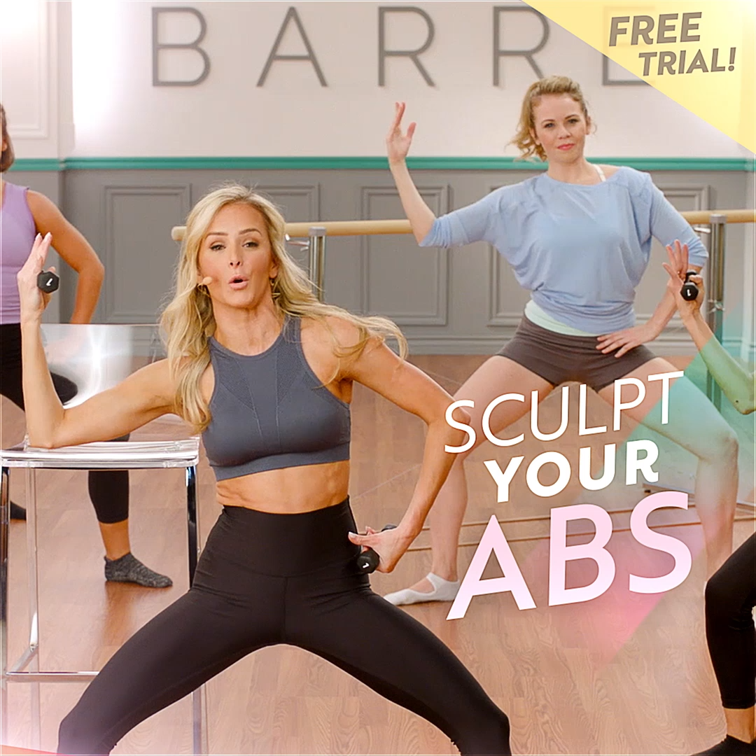 30 minute at-home barre workouts, no barre required