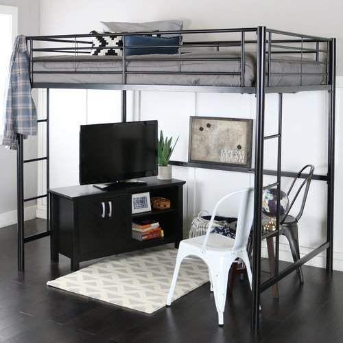 Viv Rae Maurice Full Loft Bed Good Space Saver For Smaller Apartments Apartment Ad Loftbed Modern Loft Bed Loft Bunk Beds Kids Loft Beds