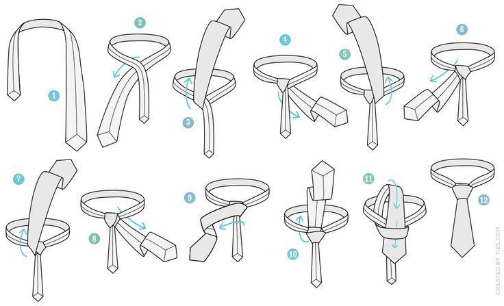 how to tie a balthus necktie knot agreeordie dapper threads rh pinterest com Tie Knot Tying Diagrams tie tying tieing