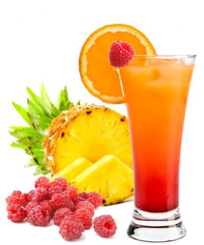 fruit punch | 1 cup Daily's Raspberry Mix 6 cups pineapple juice 2 ...