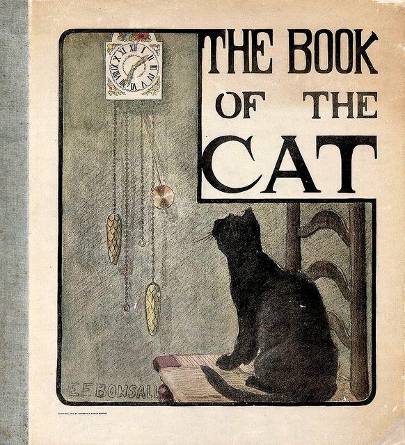 Elizabeth Bonsall Poster Katzen auf dem Buch