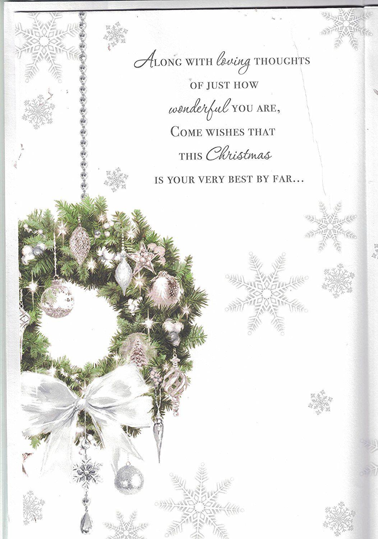 Husband Christmas Card ~ To My Wonderful Husband At Christmas ...