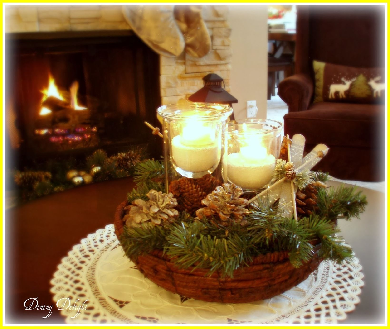 38 Reference Of Coffee Table Holiday Decor Ideas In 2020 Decorating Coffee Tables Coffee Table Centerpieces Table Decorations