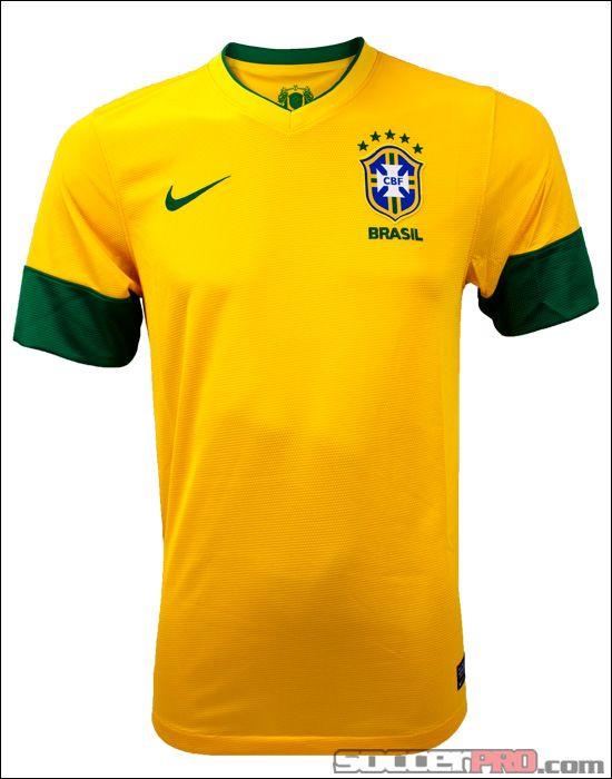 f2b439dee Nike Brazil Home Jersey 2012-2013... 76.49
