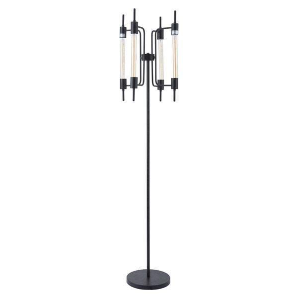 Gisborne Floor L& Rust  sc 1 st  Pinterest & Gisborne Floor Lamp Rust | Indoor Floor Lamps | Pinterest | Floor ...