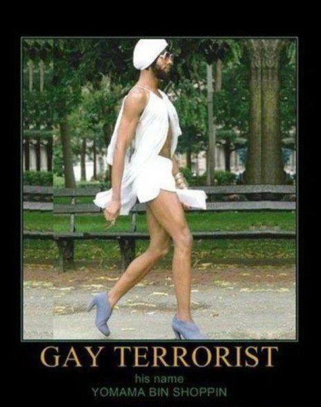 Funny stupid terrorist