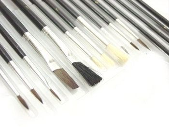 lot of 60 piece artist paint brush set  60 by WestBendWarehouse, $20.00