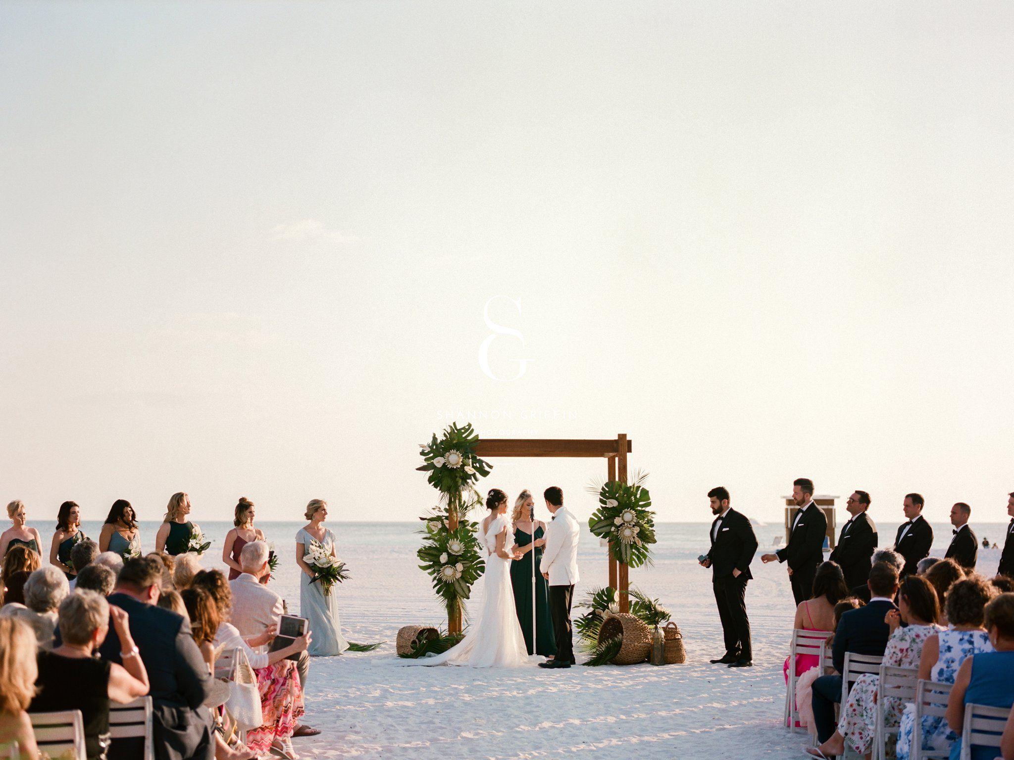 Modern Tropical Jw Marriott Wedding Marco Island Wedding Florida Destination Wedding Venues Island Weddings
