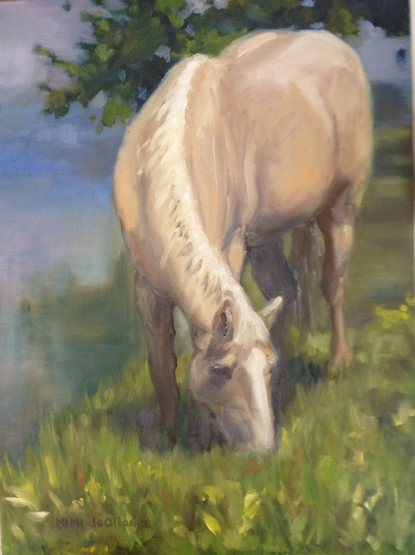 """Greylock  Oil on canvas  12"""" x 16"""""""