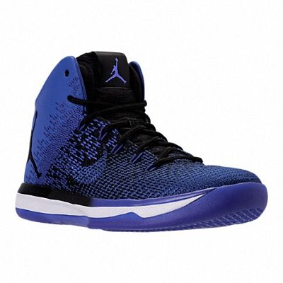 huge discount fcae1 c20d3 2018 Popular Mens Air Jordan XXXI Basketball Shoes Black Game Royal 845037  007