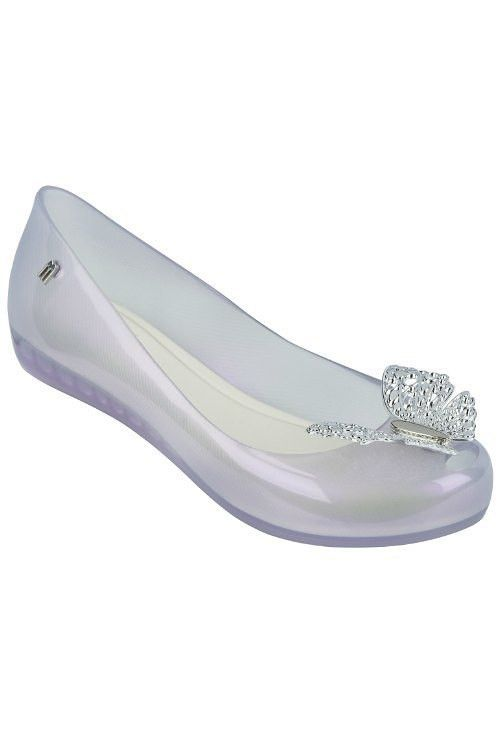 25f65d565e8 Pretty enough for a princess, this flexible, eco-friendly flat fashioned  from fruit
