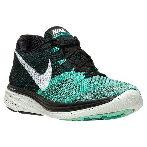 save off 93d80 39916 Womens Nike Flyknit Lunar 3 Running Shoes - 698182 005  Finish Line