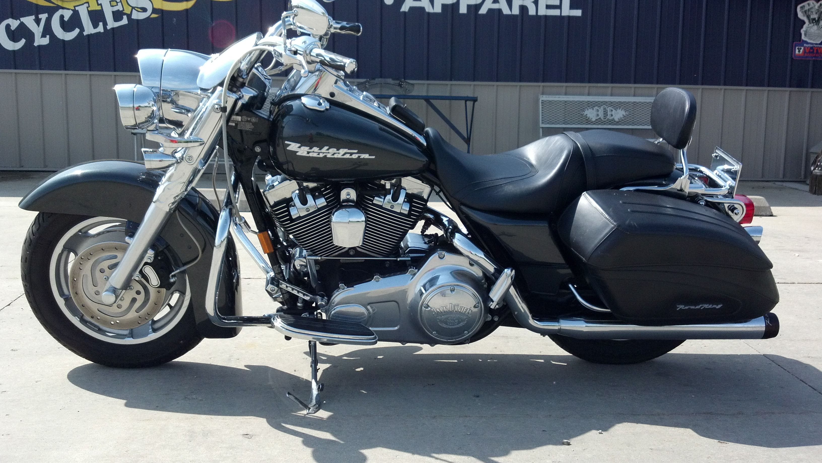 2007 harley road king custom with faring cars harley. Black Bedroom Furniture Sets. Home Design Ideas