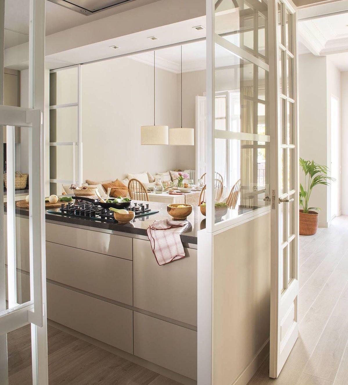 Pin de Melanie Le gouguec en Cocina  Cocinas abiertas, Cocina