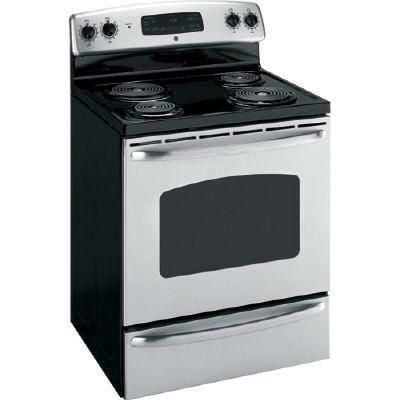 Next Best Thing To My Dream Gas Stove I Don T Like Flat Top Electric So This Old Fashioned Coil Elect Self Cleaning Ovens Stainless Steel Stove Cool Kitchens
