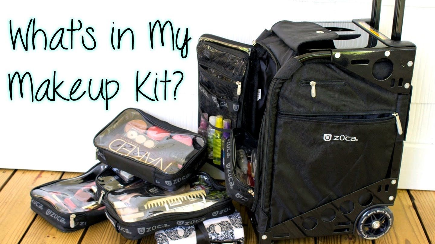 WHAT'S IN MY MAKEUP KIT? Featuring the Zuca Pro Artist