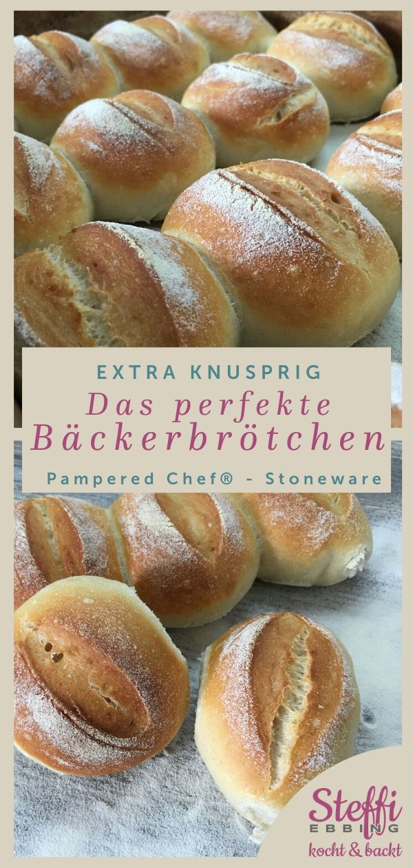 Photo of ▷ Bread roll recipe ⇒ Stoneware • Pampered Chef®
