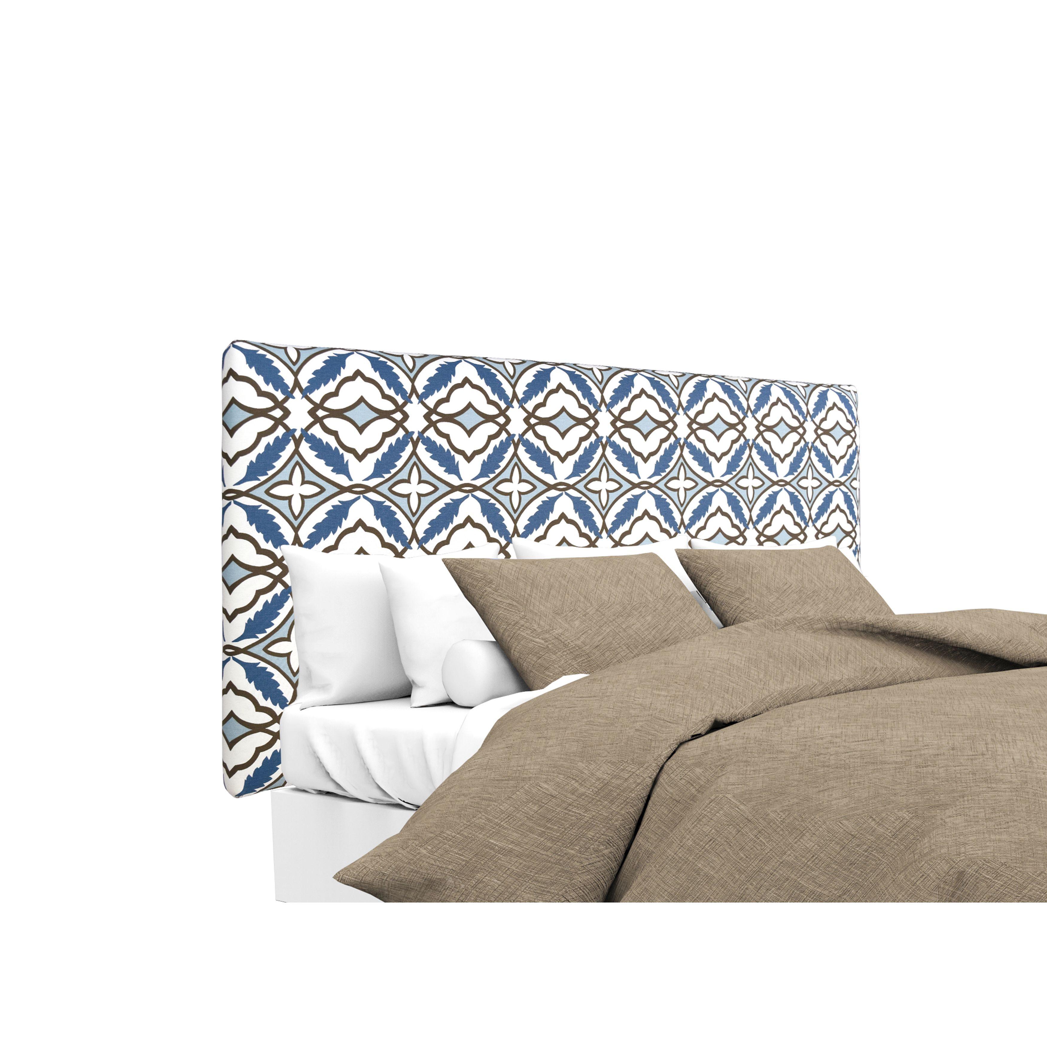 MJL Furniture Alice Eden Cadet Designer Upholstered Headboard (Twin ...