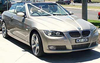 Silver Service Wedding BMWs