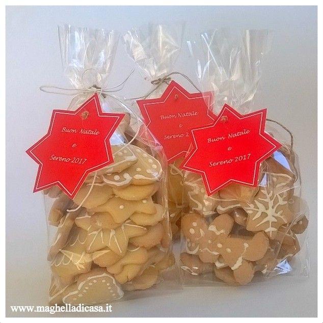 Biscotti di Natale fai da te in confezione regalo | Biscotti di