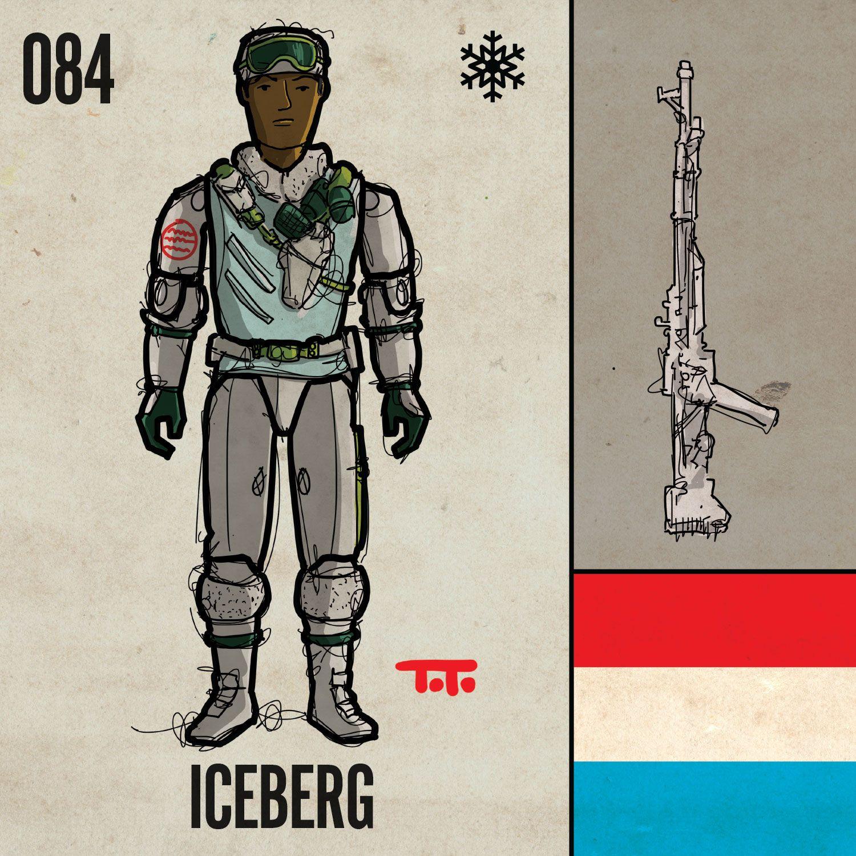"084 ""Iceberg"". G.I. Joe ""Real American Hero"" Series 5"