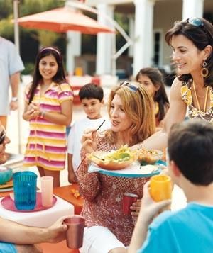30 Tips for Easy Outdoor Entertaining   When the weather warms and your parties move outdoors, try these simple ideas.