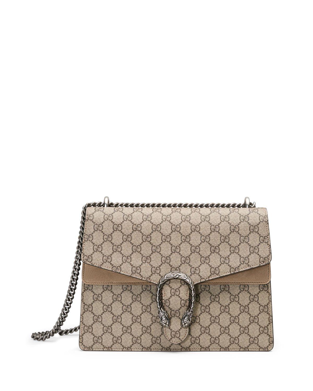 15d49cf277b Dionysus GG Supreme Canvas Shoulder Bag